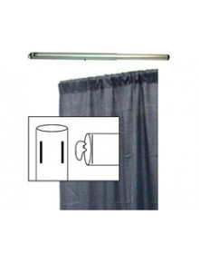 Drape & Pole for Corner Booth