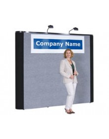 10' Straight Wall Pop Up Display